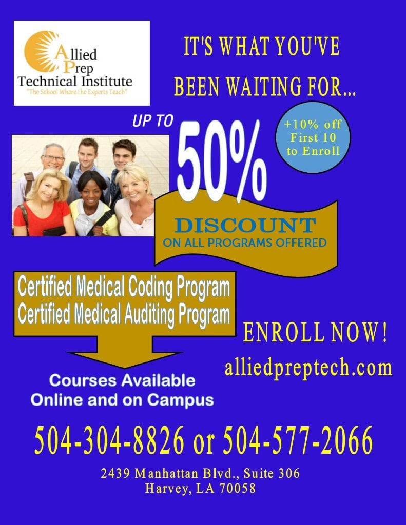 Discount on all programs